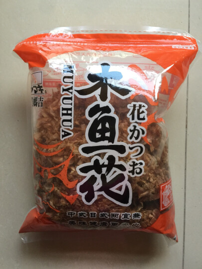 国产日韩料理寿司食材万字 柴鱼片木鱼花500g 章鱼小丸子材料鲣鱼片柴鱼丝 晒单图