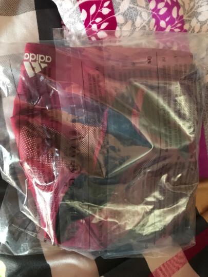 阿迪达斯adidas 官方 训练 女子 运动内衣 神秘宝石红 BQ9464 如图 XL 晒单图