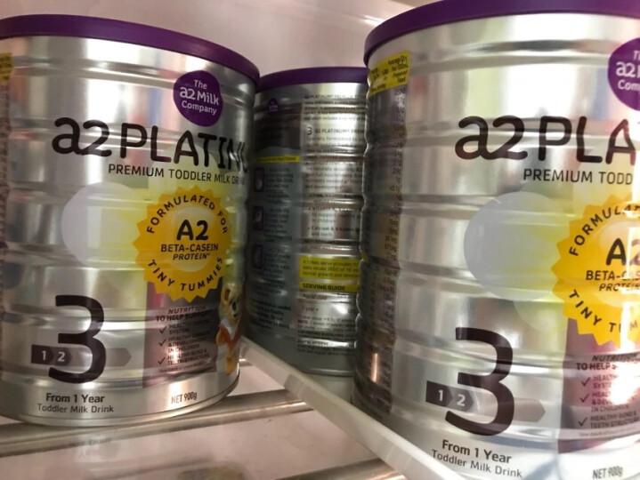 澳洲a2 Platinum  白金版婴幼儿奶粉3段900g(1-3岁)新西兰原装进口 晒单图
