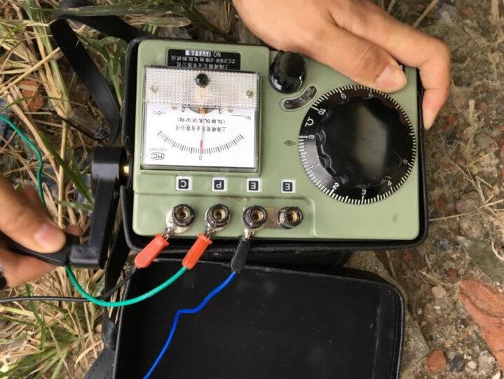 祥瑞德接接地表地电阻测试仪ZC-8/ZC29B-2接地摇表 布包配件一套无主机 晒单图