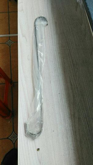 不锈钢S钩 加长货架挂钩 S勾 S钩大号 服装店挂钩 试衣间S型钩子 黑钛金50厘米 晒单图