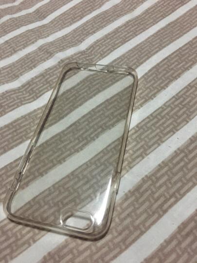 LOLI 6S手机壳 薄款透明手机套保护壳 适用于苹果iphone6/6s plus 4.7英寸透明+指环支架+钢化膜 晒单图