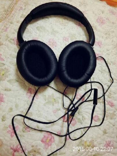 233621 H500/H501头戴式发烧耳机降噪重低音潮流 手机电脑通用 苹果认证 带线控  H501 晒单图
