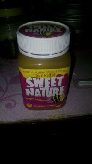 新西兰进口甜天然儿童蜂蜜500g 晒单图