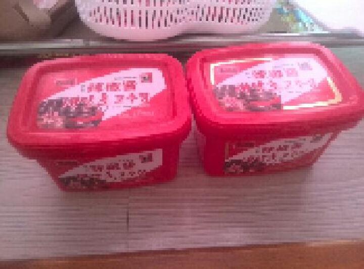 全场满减 韩一奶奶 韩式辣酱石锅拌饭酱炒年糕酱料理用调料 韩国辣椒酱500g 晒单图