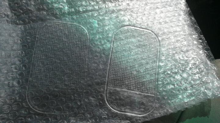 车太太 汽车防滑垫车载手机防滑贴车用香水座止滑垫摆件物件防滑置物垫子功能小件 汽车用品超市 透明 晒单图