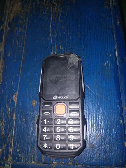 天语(K-Touch) T3 移动/联通2G军工三防老人机老年手机 双卡双待 黑色 晒单图