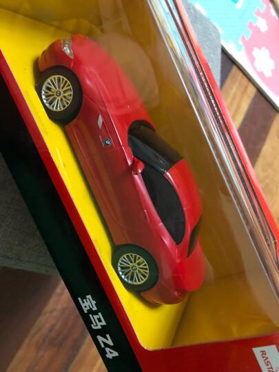 RASTAR星辉 遥控车 1:24宝马Z4遥控汽车赛车模型男孩儿童玩具车六一儿童节礼物 黑色 晒单图