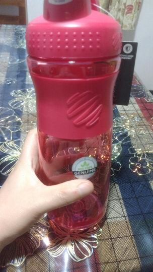 BlenderBottle 运动防滑款蛋白粉摇摇杯户外健身水杯带搅拌球 粉色约800ml 晒单图
