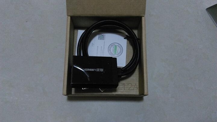 绿联(UGREEN)VGA转HDMI转换器带音频 高清视频转接头转接线 电脑笔记本连接电视显示器投影仪线 黑色 40213 晒单图
