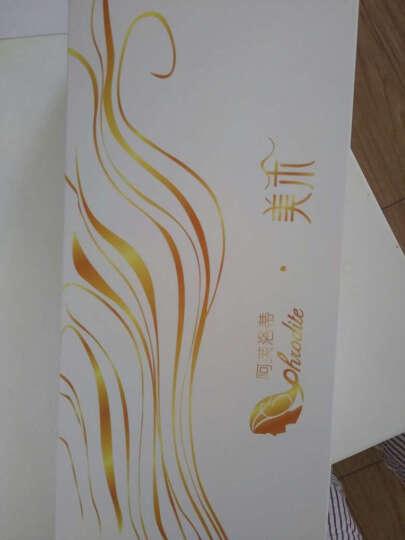 美禾(Meihe) 真发假发片 女士头顶补发片 中老年遮挡头顶白发增加发量直发发片 斜刘海 自然色20cm 晒单图