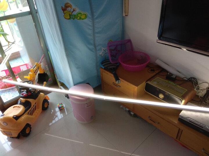 雷士(NVC) 雷士照明 LED灯管T5led灯带一体化支架照明暖光管灯具 T5支架双线连接头(另自购链接头) 暖黄光 晒单图