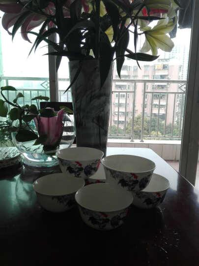 淘瓷缘饭碗汤碗陶瓷碗米饭碗吃饭碗景德镇骨瓷碗具餐具碗碟套装家用公鸡碗瓷碗小碗大吉6个装 金钟碗 晒单图