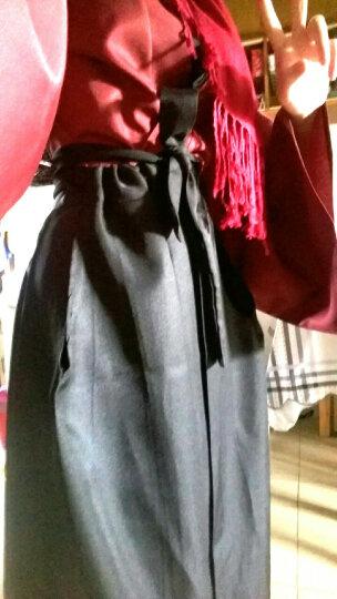 刀剑乱舞周边大和守安定cos服加州清光打扫服和服武士服装 男士木屐+白色两指袜40-44 M 晒单图