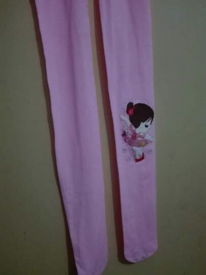 【买三送一】拉潘妮舞蹈袜女童连裤袜春夏季儿童打底裤3-5-7-9岁女孩公主弹力连体丝袜薄款 跳舞小女孩白色 L(100-115cm) 晒单图