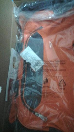 爱华仕(OIWAS)大容量拉杆袋 休闲出差旅行拉杆包 8020橙色 晒单图