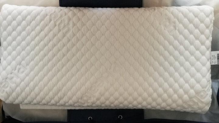 碧荷(P.Health)波形慢回弹记忆棉睡眠枕头颈椎枕保健枕护颈枕记忆枕头 一对装更优惠 气泡棉款 枕高6cm+8cm(2件 各1件) 晒单图