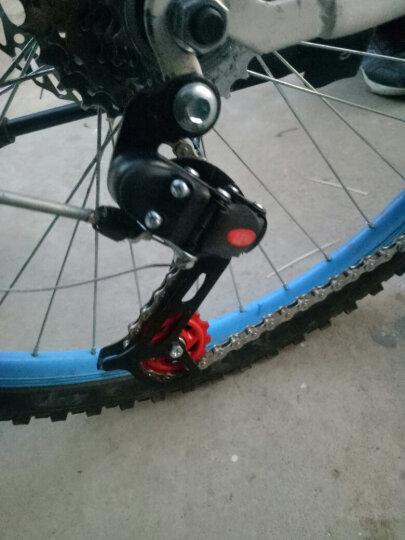 蓥峰 山地车定位后拨链器后变速器自行车眼拨勾拨6 18速7 21速调速器 黑色眼拨一个 晒单图