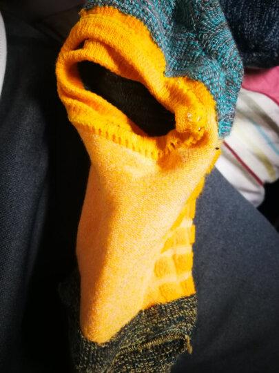 珍行足衣 精英专业中筒篮球袜高筒袜运动袜子男加厚低帮跑步袜毛巾袜 中筒红(37-40码) 晒单图