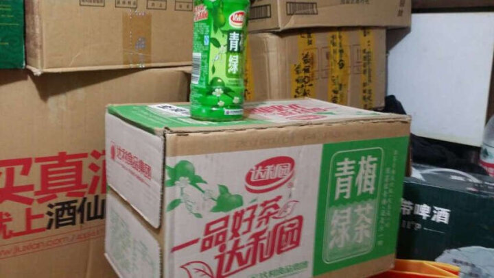 达利园 青梅绿茶 500ml*15瓶 整箱(新老包装随机发货) 晒单图