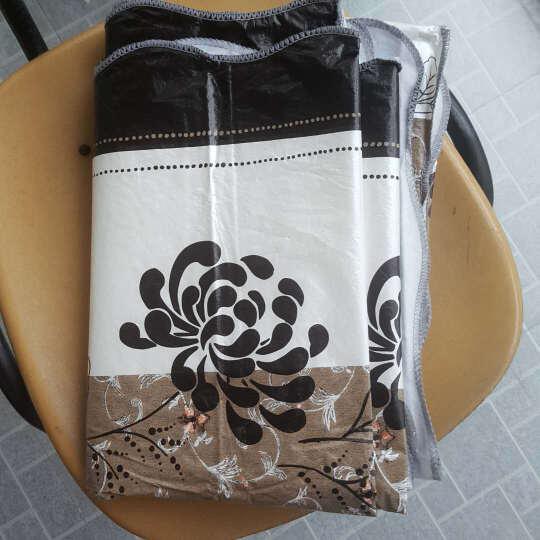 一朵 欧式田园格子韩式桌布防水免洗塑料餐桌布PVC台布防油茶几布包邮 曲边PVC桌布咖啡小格 桌布137*183 晒单图