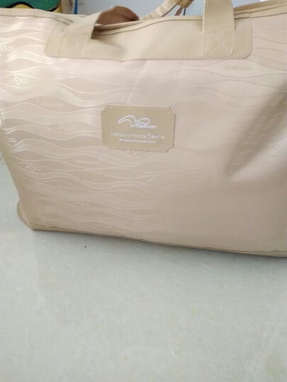 水星家纺 暖寐抗菌鹅绒被芯 95%白鹅绒羽绒被 保暖被子 床上用品加大双人被子220*240cm 晒单图