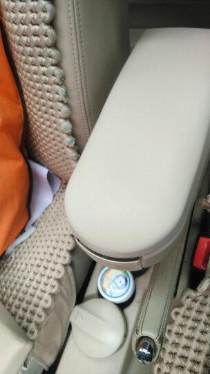 红频果大众汽车配件朗逸 帕萨特B5老款宝来扶手箱盖中央杂物箱上盖原装 浅米色 晒单图