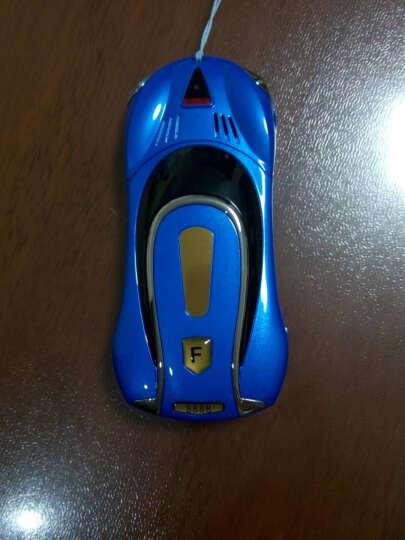紐萬(Niuwan) F1 CDMA电信2G 迷你手机 超小汽车跑车学生手机 儿童手机 蓝色 晒单图