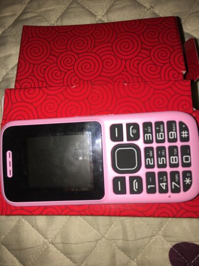 纽曼(Newman) C5 电信CDMA 老人迷你手机 学生手机 粉红色(电信版) 晒单图