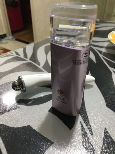 金稻(KingDom) 蒸脸器 纳米喷雾补水仪便携面部加湿喷雾器美容仪器家用 冷喷蒸脸机 KD88 晒单图