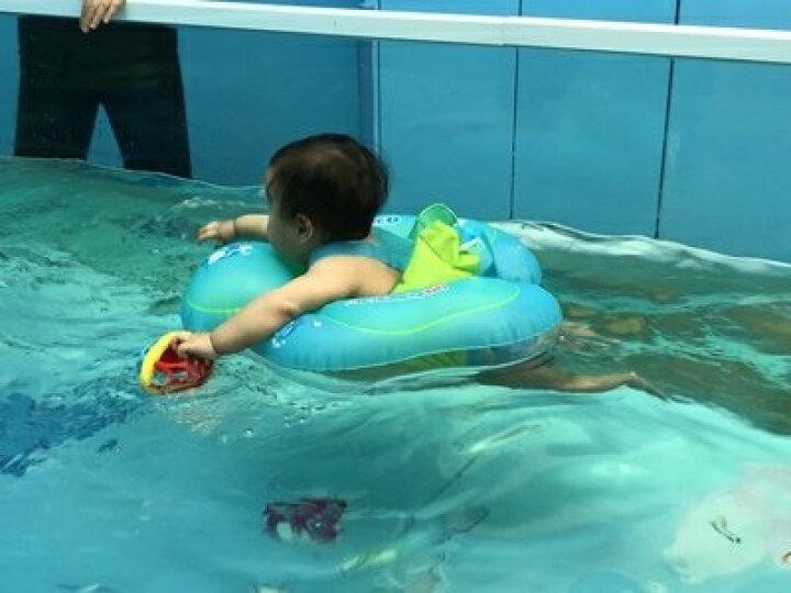 自游宝贝婴儿游泳圈宝宝儿童新生儿趴圈脖圈宝宝腋下圈防呛水救生衣 S(适合偏瘦体型,大概5-11kg) 晒单图