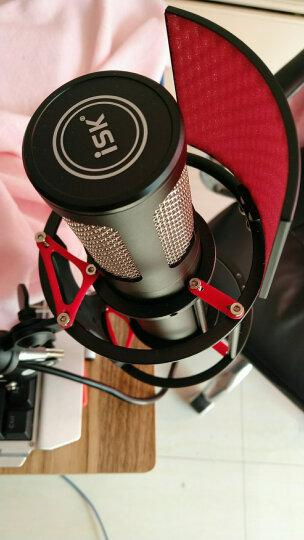 iSK ISK S600专业电容麦克风网络K歌录音喊麦YY主播话筒声卡直播设备套装 麦克风+内置7.1 A5 晒单图