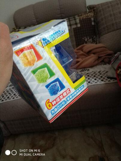 第1教室 3d魔方迷宫玩具重力迷宫球走珠男孩早教益智力儿童礼物 实色绿(迷你版) 晒单图