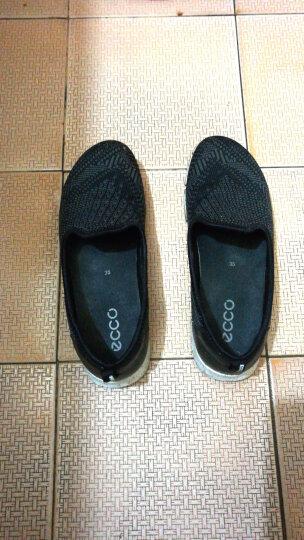 ECCO爱步 女鞋时尚活力舒适户外休闲运动鞋女鞋 盈速缘 862233 黑色/深灰86053357487 35 晒单图