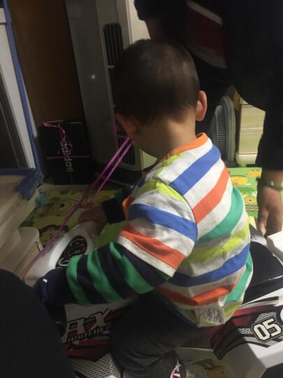 美邦旗下Moomoo童装 春秋装新款男幼童小宝宝糖果色亲肤长袖针织卫衣 奶酪橙 110/56 晒单图