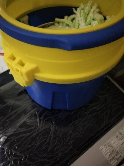 京士达 旋转拖把桶单桶洗甩一体一拖净拖地桶拖布桶免手洗墩布双驱动好神拖杆抖音神器网红拖把刮刮乐免手洗 红色拖布桶*1 拖把盘*1 拖把头*4 晒单图