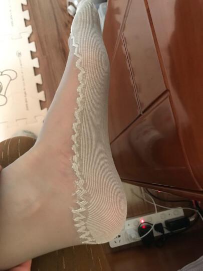 南极人短丝袜 女士包芯丝棉底防滑吸湿透气短袜子 灰色5双+咖啡5双 均码 晒单图