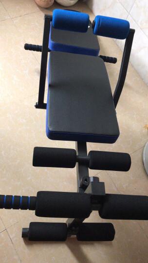 欧康多功能折叠仰卧板仰卧起坐板健腹板收腹机腹肌板哑铃凳美腰机家用减肚子瘦腰健身器材 升级款(助力弹簧,拉绳) 晒单图