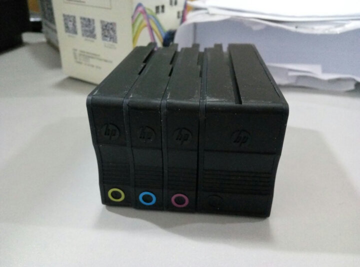 惠普(HP)950XL 951XL大容量墨盒原装墨盒 适用8610 8620 8100打印机墨盒 惠普950XL大容量黑色彩色套装 晒单图