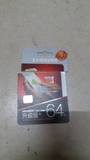 三星(SAMSUNG)tf卡手机内存卡行车记录仪switch游戏机ns存储卡GoPro运动相机SD卡 64g EVO Plus 晒单图