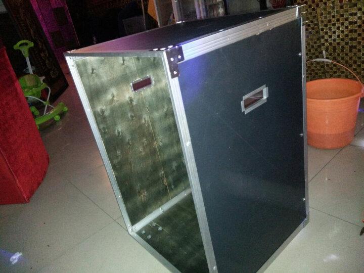Hi-vobo 16U简易机柜/机箱/卡拉OK功放机箱/航空柜 16U普通机柜 晒单图