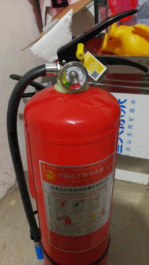 神龙 灭火器呼吸器组合箱 消防箱 可放置3/4/5公斤干粉灭火器 2/3L水基型灭火器两具 30型呼吸器2具 SLZHC型 晒单图