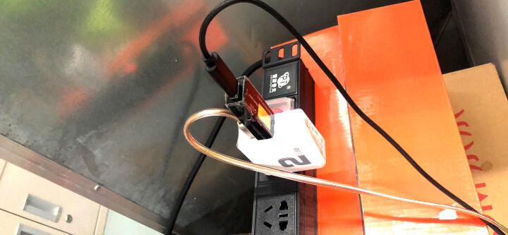 洛克(ROCK)QC3.0充电器+Type-c数据线 快充头套装 华为P10P9mate9荣耀V8nova2s3e小米8/6/mix2s三星 1米红 晒单图
