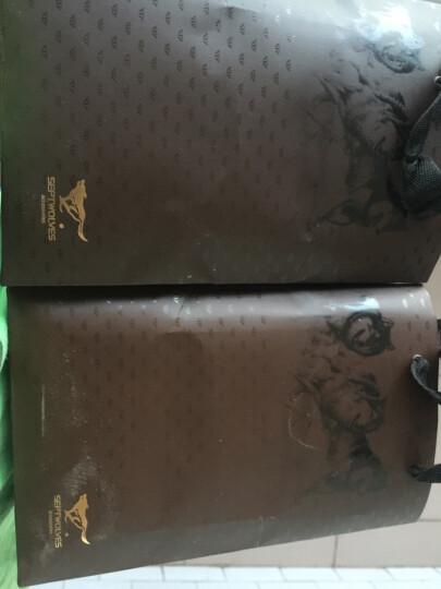 七匹狼男士皮带 商务系列升级加宽版头层牛皮自动扣腰带 7A513132000 黑色 晒单图