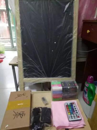 Glo-Loons荧光板53X100免支架一体式发光手写字板立式led黑板荧光屏电子广告板 荧光板+标准配置 晒单图