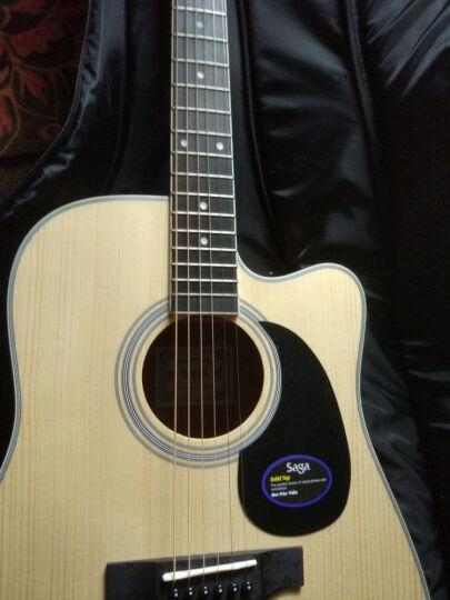 萨伽(SAGA) 单板民谣吉他木吉他初学者乐器 云杉日落色 41寸圆角SF700SB 晒单图