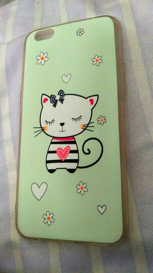 bulons 彩绘套手机套卡通软边手机硬壳 适用于OPPO R9sPlus 6.0英寸 10号招财猫壳+前膜 晒单图