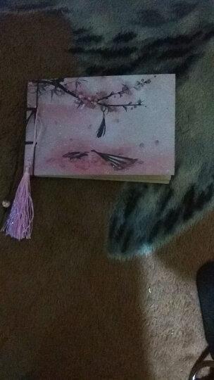 THE OPENBOX 小记事笔记本文具复古古典本子古风创意中国风线装记事本学生圣诞节礼物 桃花扇 晒单图