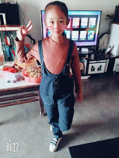 代维熊童装女童夏装2018新款套装儿童短袖两件套韩版中大童女装春秋 白颜色 150 晒单图