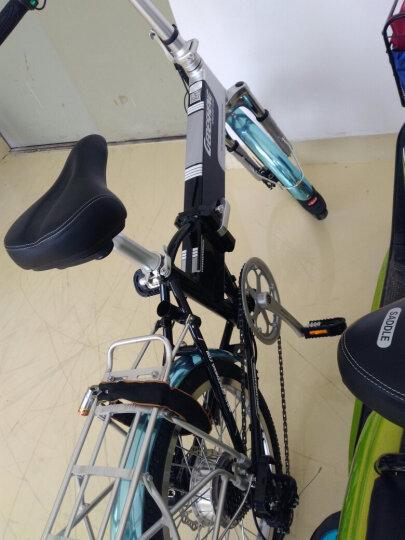 正步(ZB) 新国标电动自行车男女士成人代步迷你折叠电瓶车锂电池小型代驾助力电单车 晒单图
